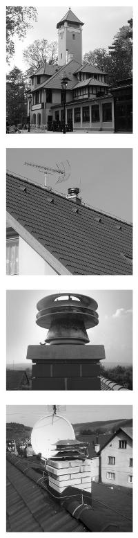 Дымоход для котла камина и печи с регулятором тяги POLMAR