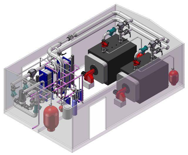 Проектирование котельных установок различного типа.Современные подходы, комплексные решения и безопасность