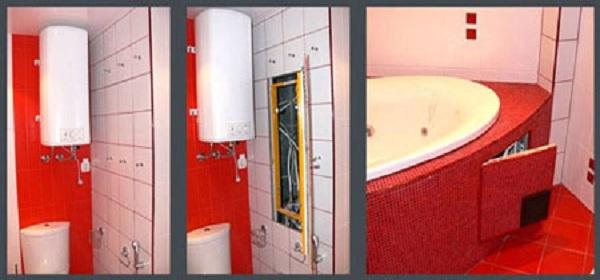 Экран для ванной из панелей пвх своими
