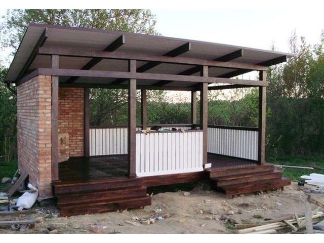 Каркасно-щитовые дома,бани,беседки,деревянные ограждения,пол... объявление 3160530